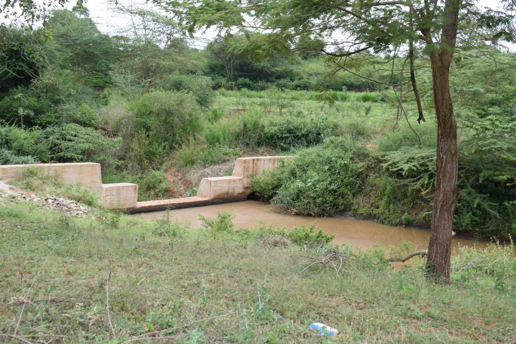 The Water Project : kenya18190-dam