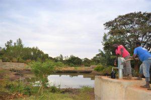 Giving Update: Ngitini Community sand dam