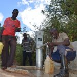 The Water Project: Masola Community A -  Fetching Water