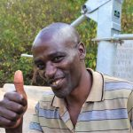 The Water Project: Masola Community A -  James Wambua