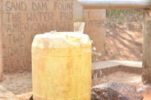 The Water Project:  Container Fills Up With Water