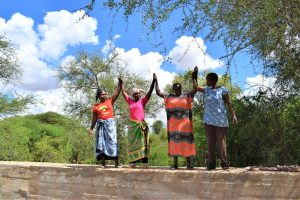 The Water Project:  High Fives For The New Dam