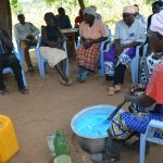 The Water Project: Maluvyu Community F -  Soapmaking