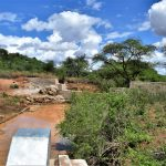 The Water Project: Maluvyu Community F -  View Of The Dam From The Well