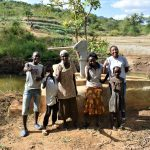 The Water Project: Masaani Community -  Kwame Martin Baraka Martin Veronica Kambua Veronica Musaa Mutindi Mumo Mwendi Mutua And Field Officer Lilian Kendi