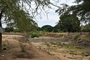The Water Project:  Completed Sand Dam
