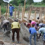 The Water Project: Kaukuswi Community -  Dam Construction Phase One