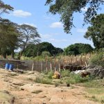 The Water Project: Kaukuswi Community -  Dam Construction Phase Three