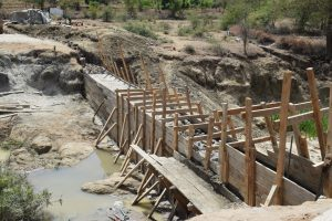 The Water Project:  Dam Construction Phase Three