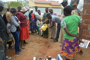 The Water Project:  Handwashing Demonstration