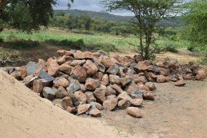 The Water Project:  Rocks For Dam