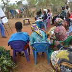 The Water Project: Kaukuswi Community -  Training