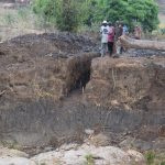 The Water Project: Kaukuswi Community -  Trenching