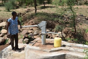 The Water Project:  At The New Well