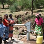 The Water Project: Maluvyu Community G -  Group Members Celebrate The Well