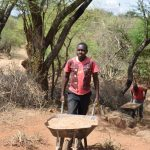 The Water Project: Maluvyu Community G -  Hauling Sand