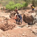 The Water Project: Maluvyu Community G -  People Working At The Job Site