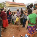 The Water Project: Kaukuswi Community A -  Handwashing Demonstration