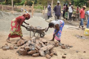 The Water Project:  Loading Up Rocks