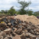 The Water Project: Kaukuswi Community A -  Rocks