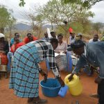 The Water Project: Kaukuswi Community A -  Training Demonstration
