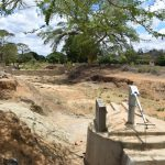 The Water Project: Kaukuswi Community A -  Well And Sand Dam