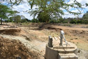 The Water Project:  Well And Sand Dam