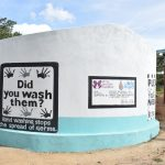 The Water Project: Kyamatula Secondary School -  Completed And Painted Tank