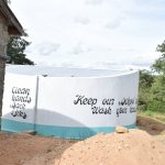 The Water Project: Kyamatula Secondary School -  Completed Tank