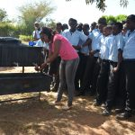 The Water Project: Kyamatula Secondary School -  Handwashing Demonstration