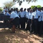 The Water Project: Kyamatula Secondary School -  Handwashing Training