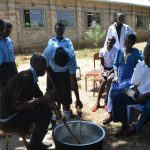 The Water Project: Kyamatula Secondary School -  Soapmaking