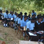 The Water Project: Kyamatula Secondary School -  Students Listen At The Training