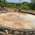 The Water Project: Kyamatula Secondary School -  Tank Construction