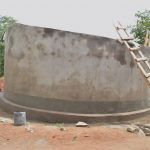 The Water Project: Kyamatula Secondary School -  Tank Curing
