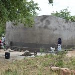 The Water Project: Kyamatula Secondary School -  Tank Nearly Complete