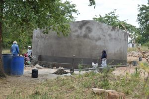 The Water Project:  Tank Nearly Complete