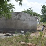 The Water Project: Kyamatula Secondary School -  Tank Nears Completion