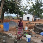 The Water Project: Kamulalani Primary School -  Construction