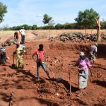 The Water Project: Kamulalani Primary School -  Excavation
