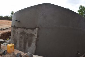 The Water Project:  Finishing Up Tank