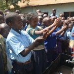 The Water Project: Kamulalani Primary School -  Handwashing Demonstration