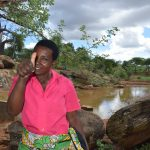 The Water Project: Maluvyu Community D -  Mary Mutua