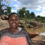 The Water Project: Maluvyu Community D -  Stella Komu