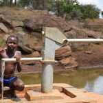 The Water Project: Maluvyu Community D -  Thumbs Up For The Well