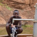 The Water Project: Maluvyu Community D -  Water