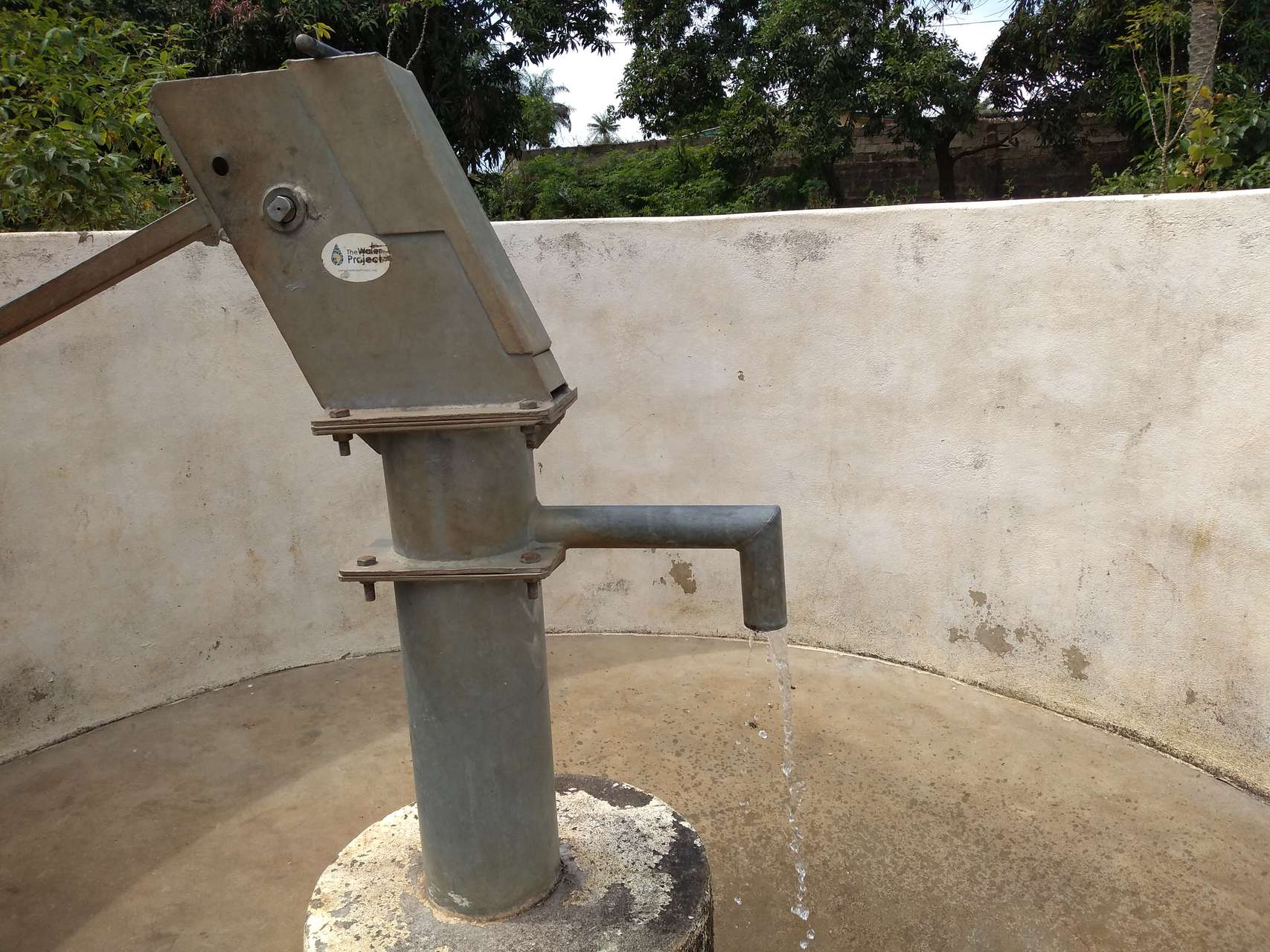 The Water Project : sierraleone18256-well-a-year-later
