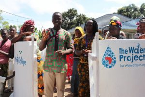 The Water Project:  Church Pastor Making Statement