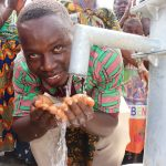 The Water Project: 45 Main Motor Road, The Redeemed Christian Church of God -  Church Pastor Rejoicing For Safe Drinking Water Provived The Community