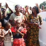 The Water Project: 45 Main Motor Road, The Redeemed Christian Church of God -  Community Members Celebrate At The Well